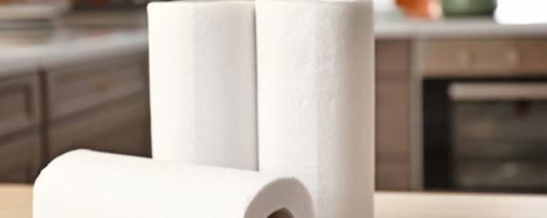 serviette en papier jetable